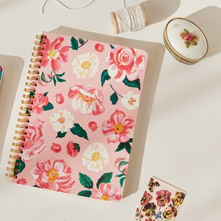 7321 Design Natalie Golden Ring Notebook - Pink Mystery, 73D73990