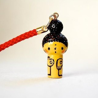 mini Kokeshi * Amitabha customers * strap * pop .o ○ [12]