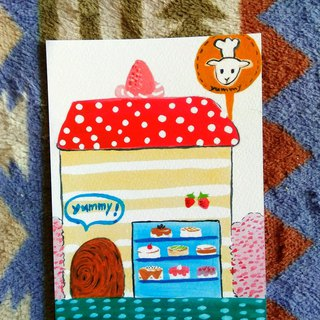 [Dream Shop Series] – Yangshuo Cake Shop _ Postcards _ Cards