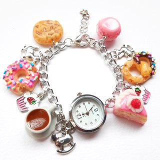 sweetcake silver watch