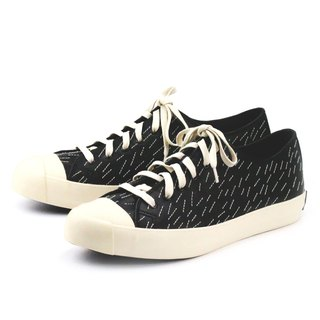 ARTISAN M1163 Black leather sneakers