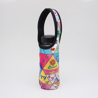 BLR Water Bottle Tote A Monster A Day [ Triangle Monster ] TC30