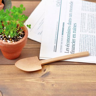 St. New Pottery One-piece small wooden shovel
