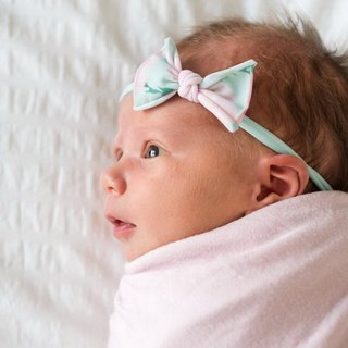 Baby Bling small bow fine hair band 2 into the group TM180503001