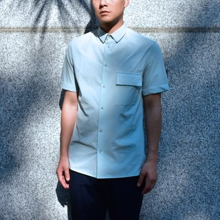 Short-Sleeved Pocket Shirt