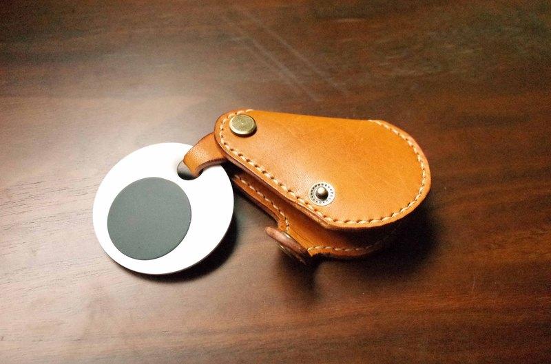 GOGORO EC-05 Ai-1機車鑰匙皮套-鑰匙包款-淺咖啡色