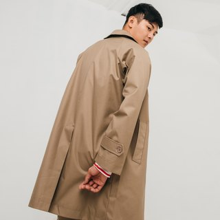 (Pre-order stage) hao Khaki Trench Coat Khaki trench coat