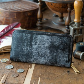 日本製造 牛皮 錢包 黑 Thomas Ware made in JAPAN handmade leather wallet