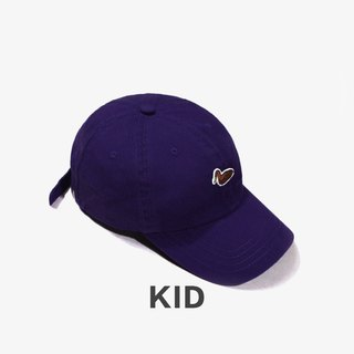 KIDS Duck Embroidered Outdoor Casual Cap:: Deep Purple::