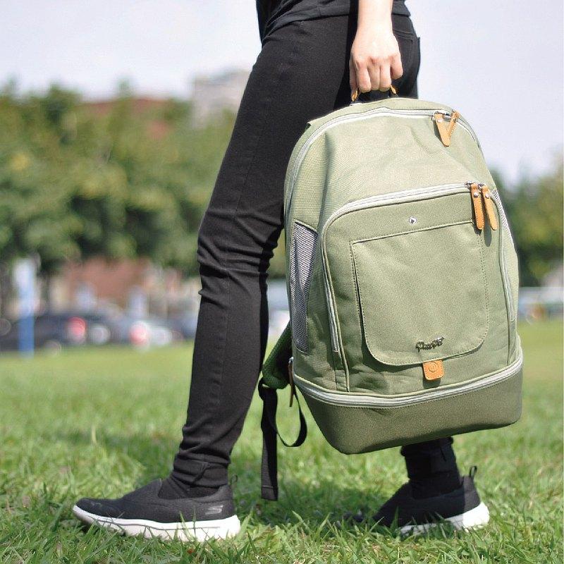 佩思沛-寵物外出背包-樂活綠