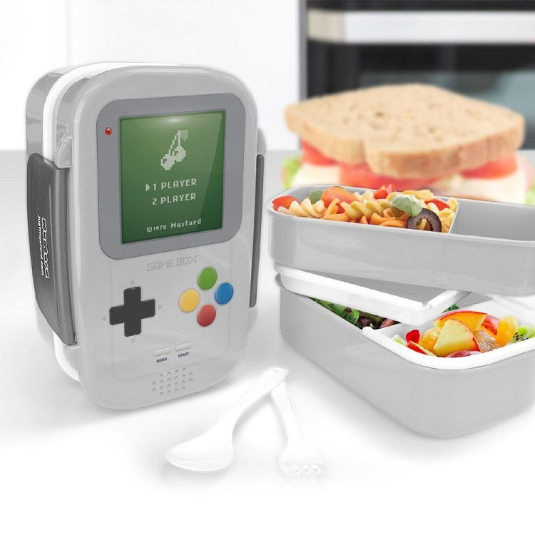 British Mustard Lunch Box - Game Console