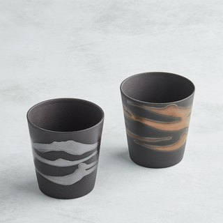 There is a kind of creativity - Japan Meinong - Gold and Silver Drinking Pots (2 pieces)