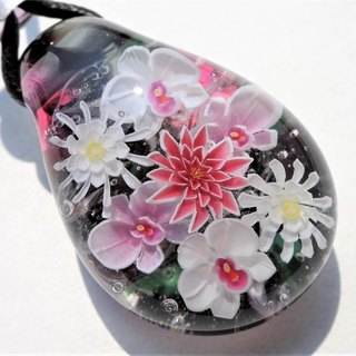 Autumn color bouquet pendant glass Tonpotama autumn gifts