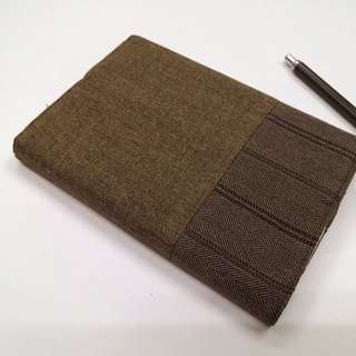 Exquisite A6 cloth book clothing ~ olive green (unique product) B04-048