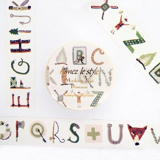 Aimez le style paper tape - Camping letter <A04499>
