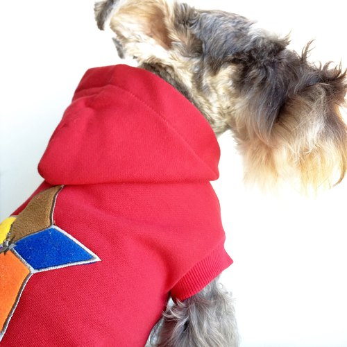 FRENCHIE new winter fashion pet cotton thicken Fleece law bucket sized dog sweater Teddy VIP