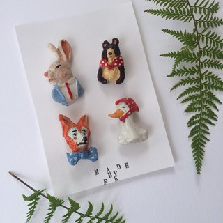 ZOO ZOO BROOCH