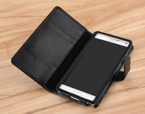 STORYLEATHER made (APPLE iPhone series) Style J2 notebook PDA-style over a custom leather case