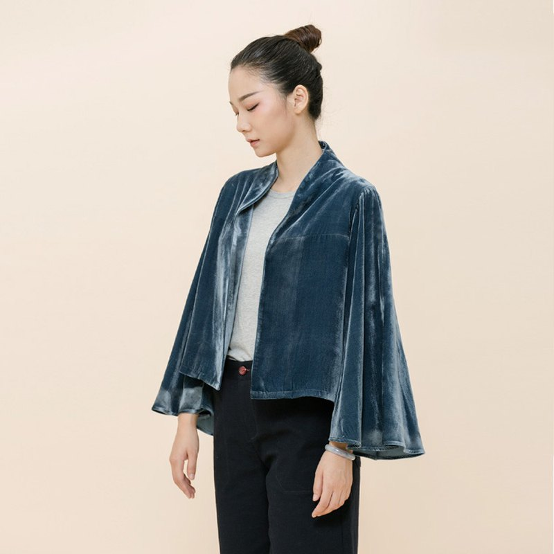 BUFU  silk jacket O170802