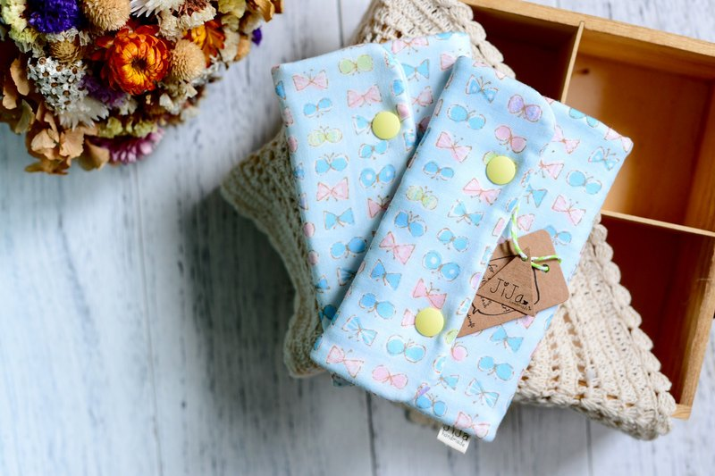 LIMITED JAPAN FABRIC PRINT - HANDMADE BABIES STRAP COVER SET