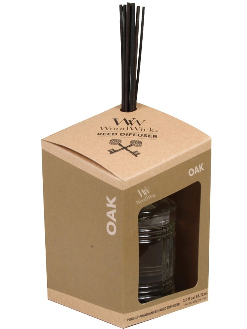 【VIVAWANG】 WW3oz Male Reed Adds Fragrance (Oak) Rich Woody Aroma, Comfortable