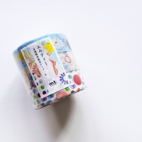 mt Masking Tape / Taiwan Limited Edition【A (MT03S01TW)】