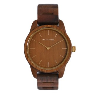 WILS FABRIK - Cozy - Walnut Lumber Wood Watch