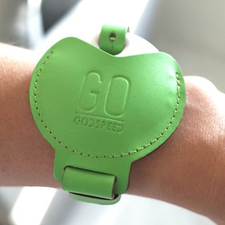 GOstrap-Apple Green-GOGORO Key Leather Bracelet