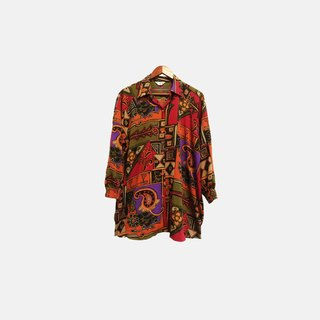 Dislocated vintage / Totem long-sleeved shirt no.109 vintage