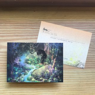 Taiwan Landscape Jungle Divine Series - Postcard Card - Firefly / Taiwan Middle East