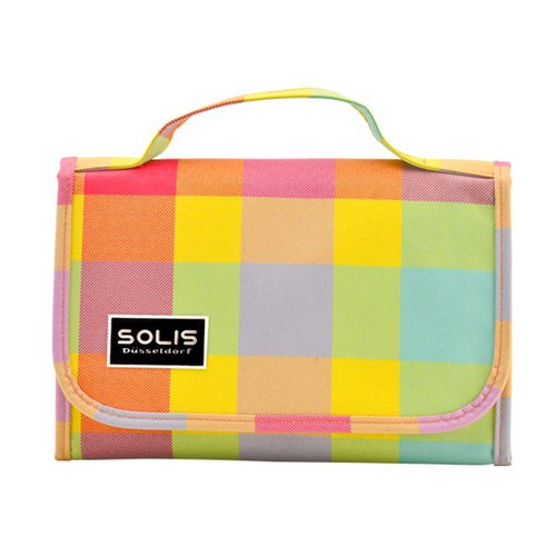 SOLIS [ Mosaic Series ] Passport case(baby yellow)