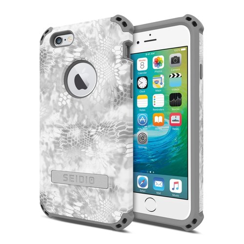 Military Class Quad Corner Collision Protector / Case for iPhone 6 / 6s - Polar Whisperer-DILEX ™ x KRYPTEK Series