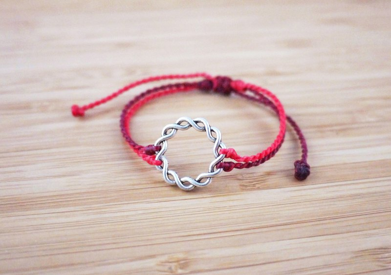 [Fate] Silk wax line braided bracelet