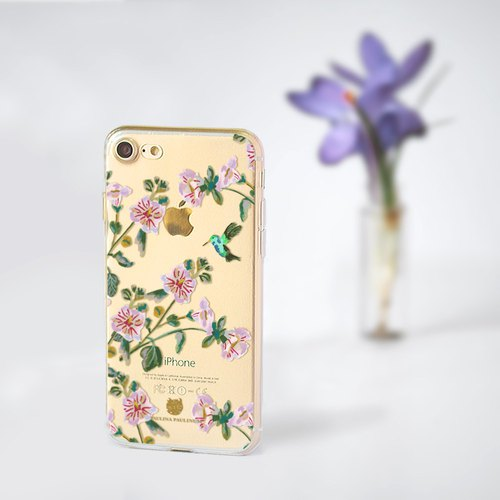 Animal clear phone case Floral clear iPhone x Case OPPO r11 case LG v30+ case S8