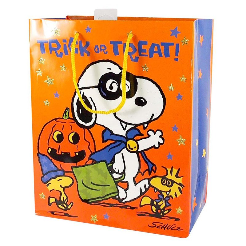 Snoopy does not give sugar to the trick egg gift bag [Hallmark-Halloween Series]