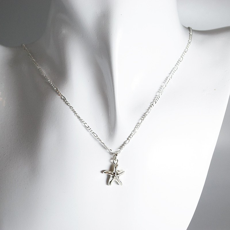 Zo.craft starfish necklace / 925 sterling silver