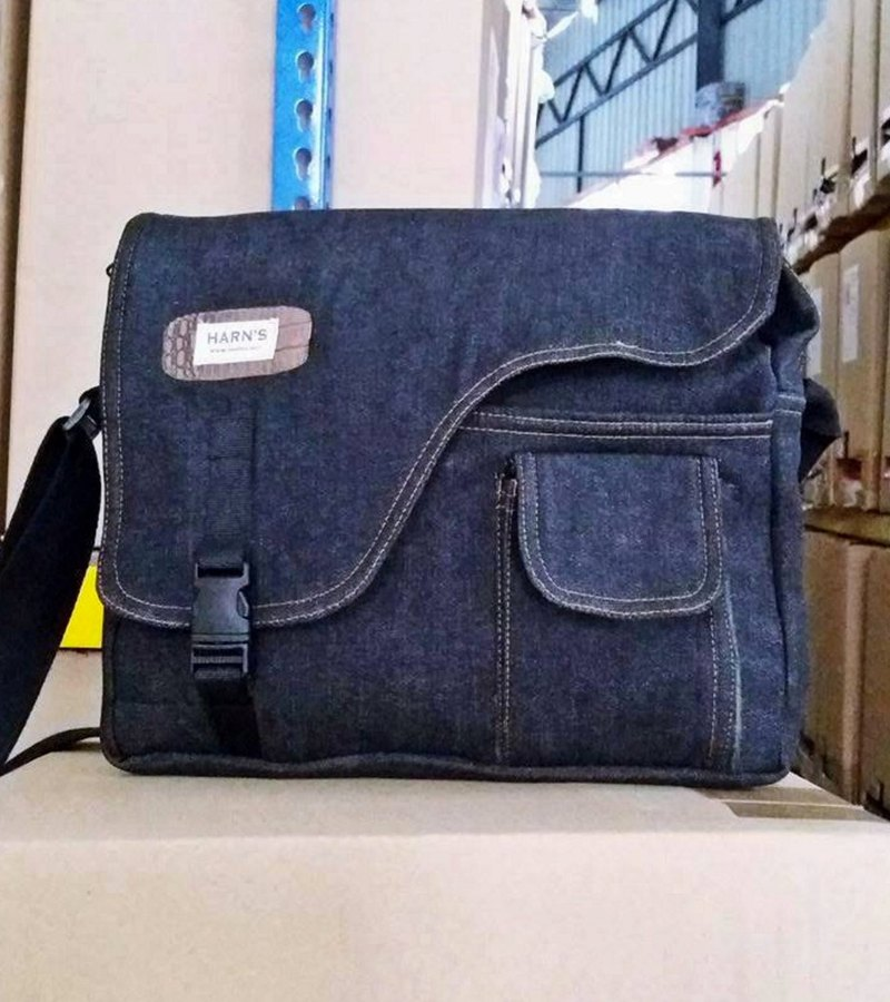 HARNS : Messenger Bag, Shouder Bag, Sling Bag, Crossbody, Denim