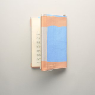 Book cover / waterproof paint / orange blue