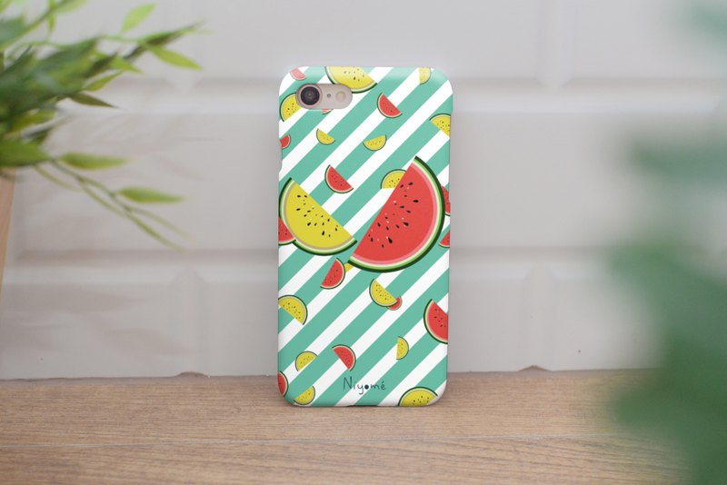 summer watermelon iphone case สำหรับ iphone5s, 6s plus, 7, 7+, 8, 8+, iphone x