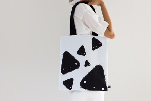 Canvas Tote Bag (triangle)