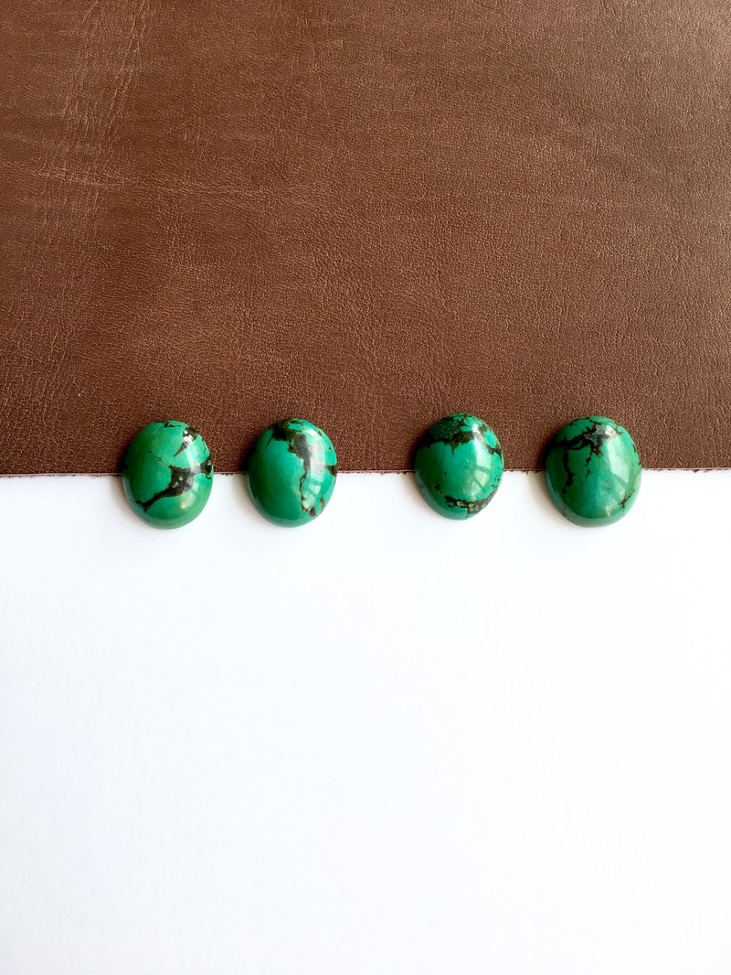 Green Turquoise earring
