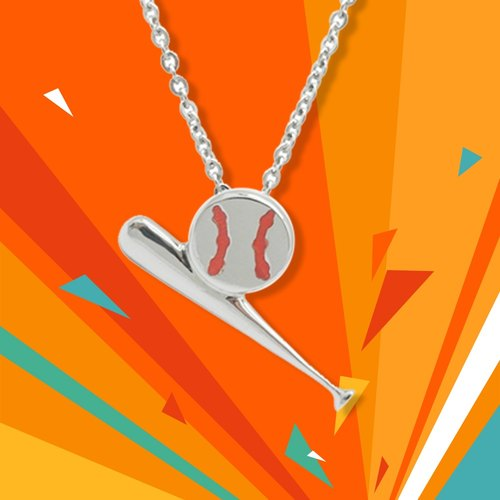 WING Jewelry wing necklace | sports series - baseball necklace l 8AA00512