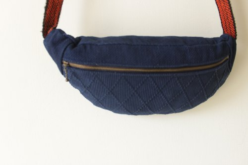 Dongxing homemade remake blue cloth pocket