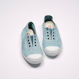 Spanish national canvas shoes CIENTA adult size washed old light blue fragrant shoes 70777 72