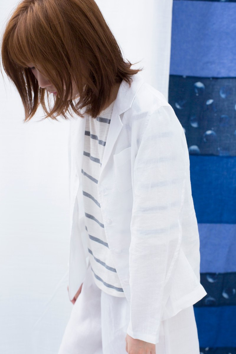 Fete original loose linen suit jacket