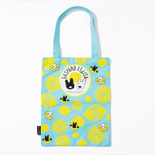 Lisa and Casper Canvas Tote - Weather
