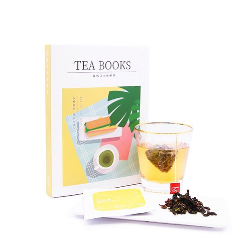 Something YOUWOO Taiwan Organic Natural Agriculture French Shanbao Tea Triangle Tea Bag TEABOOKS