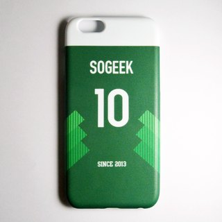 SO GEEK phone shell design brand THE JERSEY GEEK jersey back number customized models 072