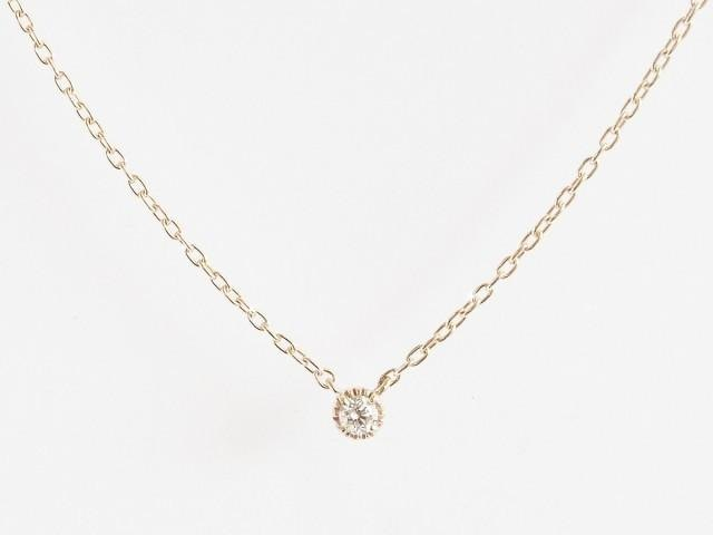 K10 Classical Diamond Necklace