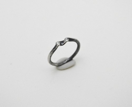 fold no.1‧Silver Couple Ring
